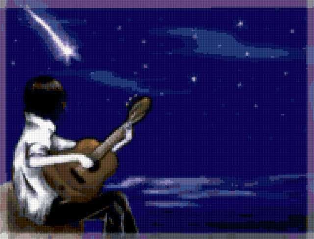 Парень с гитарой, предпросмотр