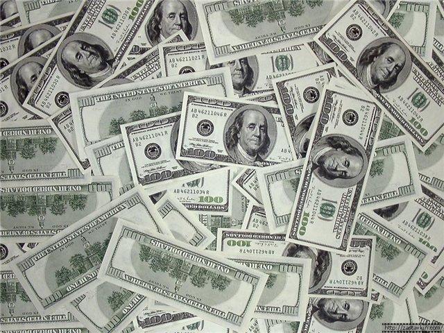 Доллары, оригинал