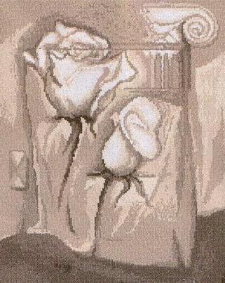 Античные розы, цветы
