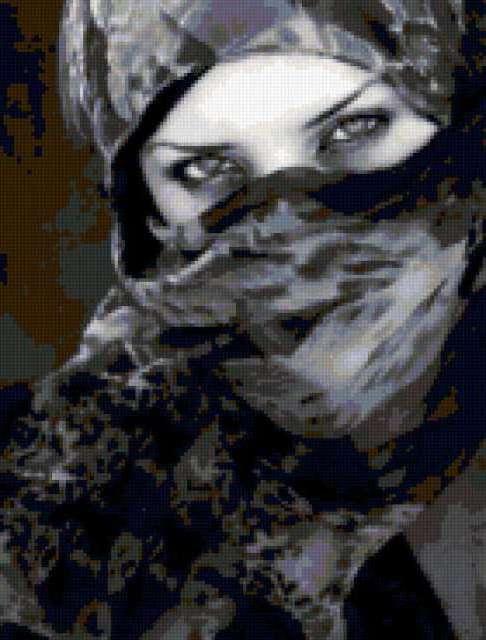 Девушка в парандже
