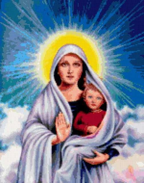Материнский покров, икона