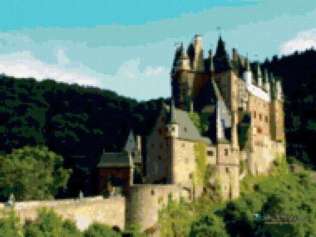 замок Burg Eltz , предпросмотр