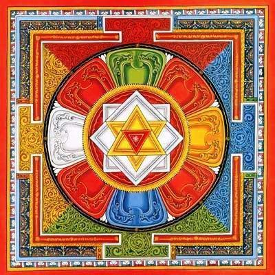 Тибетская мандала, оригинал