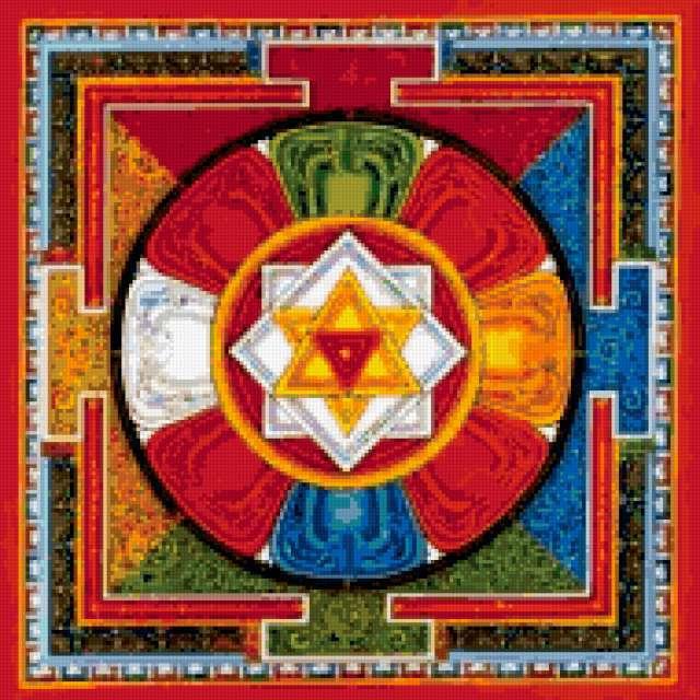 Тибетская мандала