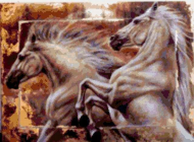 Пара коней, предпросмотр