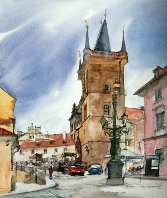 Карлов мост Прага, оригинал