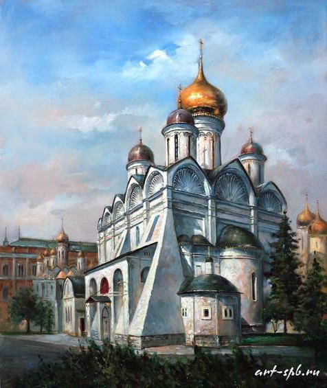 Москва, кремль, архангельский