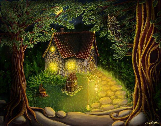 Сказочный домик, оригинал