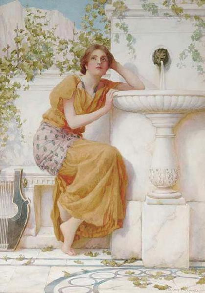 The Music of the Fountain,1895,