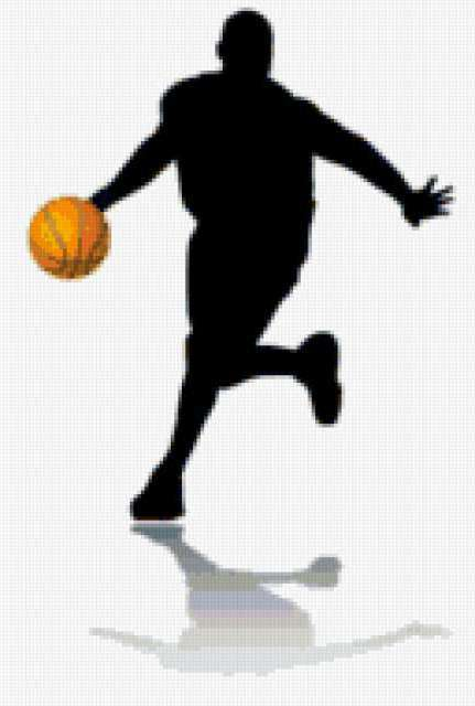 Вышивка схемы баскетбол
