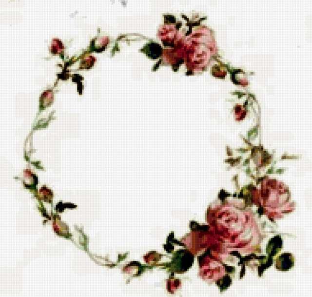 Венок из роз, предпросмотр