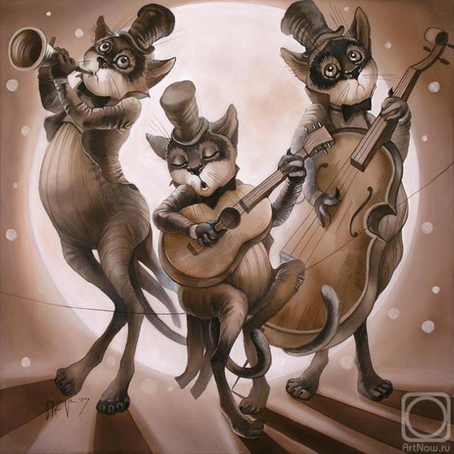 Коты-музыканты, оригинал