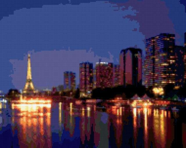 Ночной Париж, предпросмотр