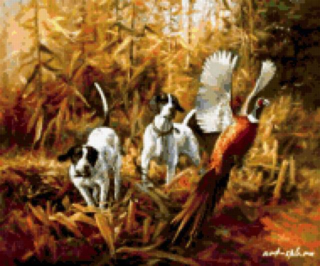 Охота на фазана, предпросмотр
