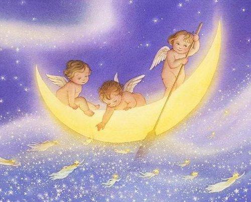 Ангелочки сладких снов, ангелы