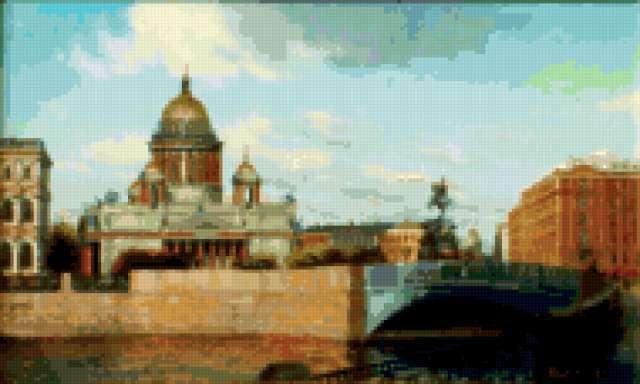 Городской пейзаж - Питер
