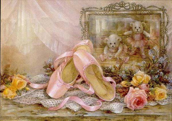 Розовые пуанты, оригинал
