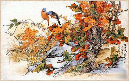 Рисунки птиц, оригинал