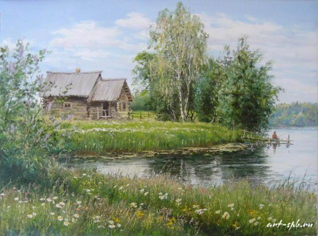 деревня русская фото