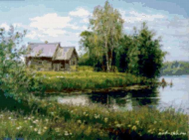 Русская деревня, предпросмотр