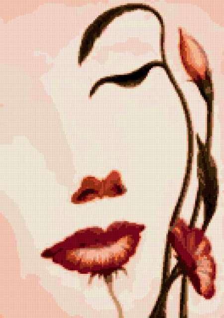 Девушка-цветок, предпросмотр