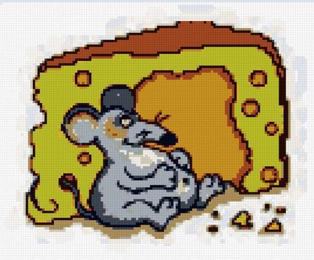Мышка и сыр, мышка, мыши,