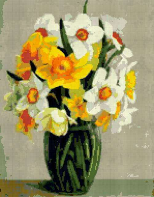 Букет нарциссов, цветы, букет,