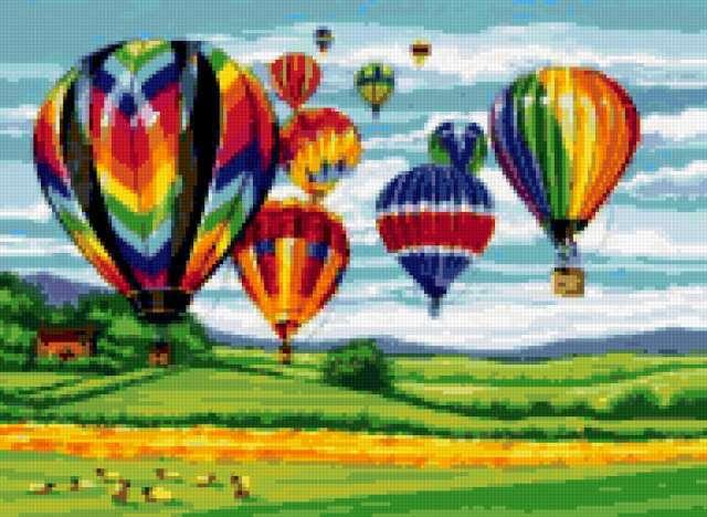 Воздушные шары, воздушный шар,
