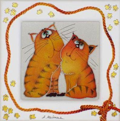 Влюбленные коты, оригинал