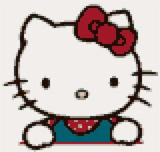 Hello Kitty, hello kitty,