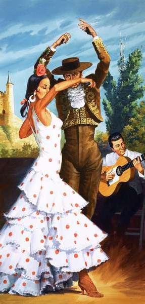 Испанский танец, оригинал