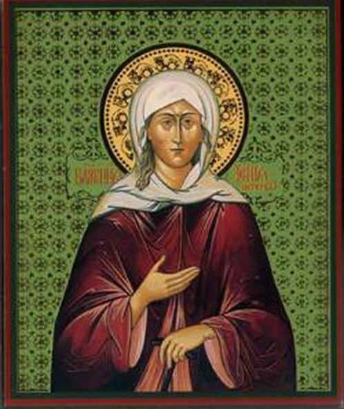 Святая Анна, икона
