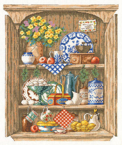 натюрморт, посуда, цветы