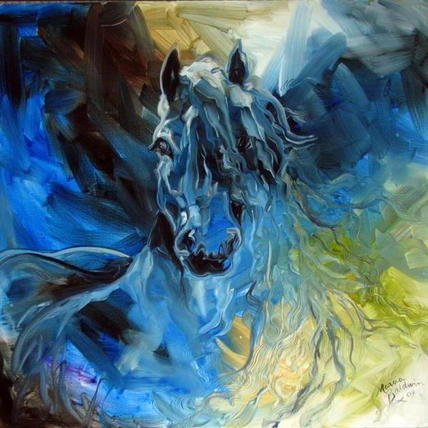 Ледяной конь, оригинал