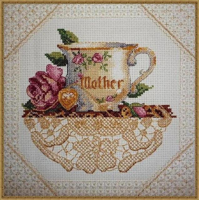 Вышивка для мамы, оригинал