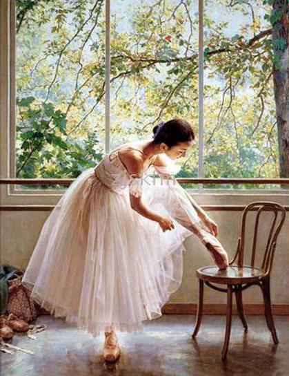 Балерина у окна, оригинал