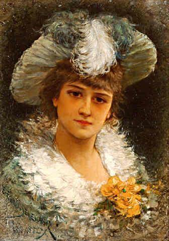 Женский портрет,