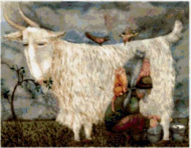 Коза рогатая, предпросмотр