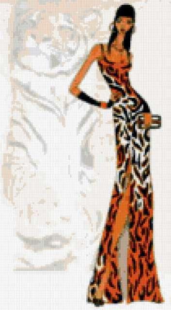 Африканские мотивы, тигр