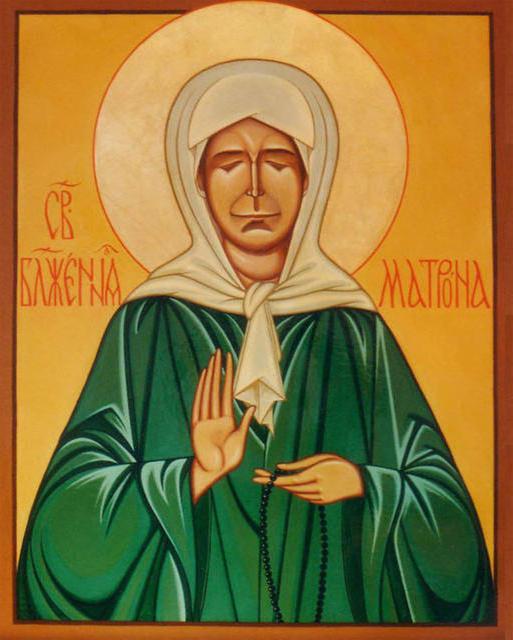 Икона Святой Матроны, оригинал