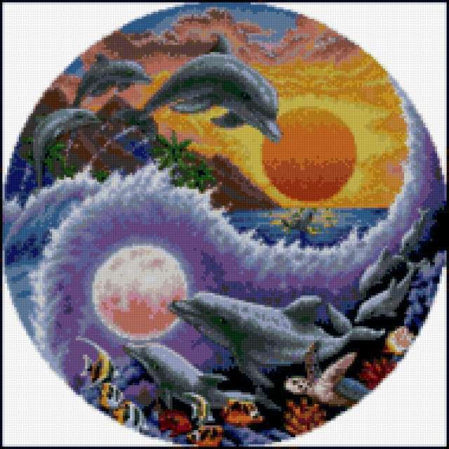 Солнце и Луна - Инь и Янь,