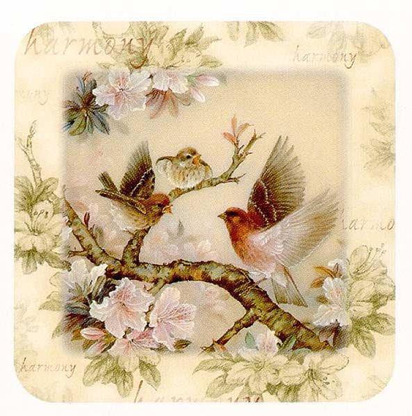 Птицы и цветы, птицы, птички,
