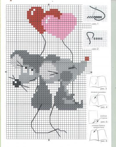 Оригинал - Схема вышивки «