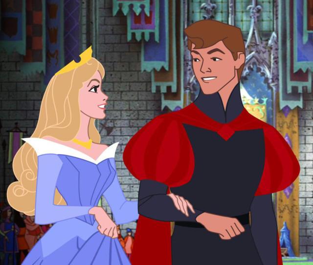 Золушка и принц, оригинал