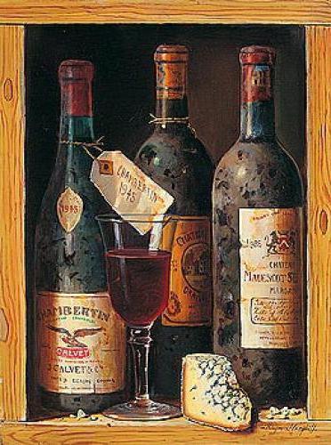 кухня, вино, бутылки,