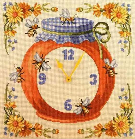 Часы - пчелы, оригинал