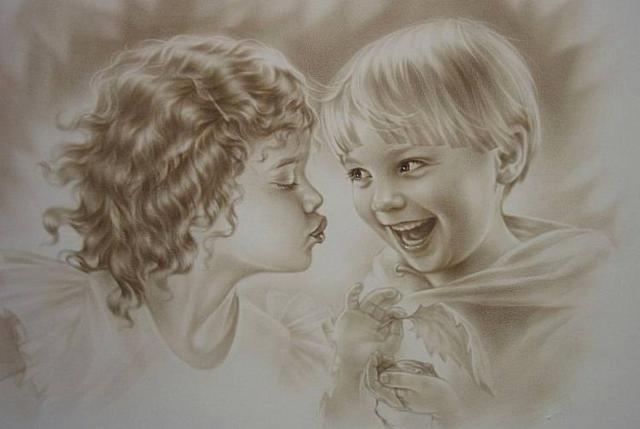 Детская дружба, оригинал