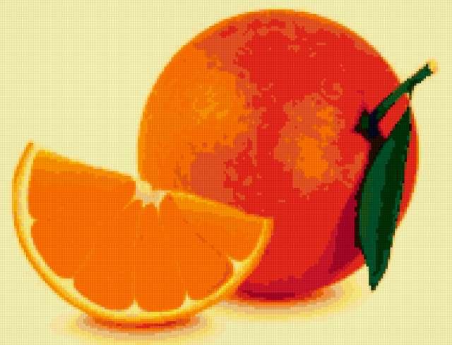 К схеме вышивки «Апельсин» нет