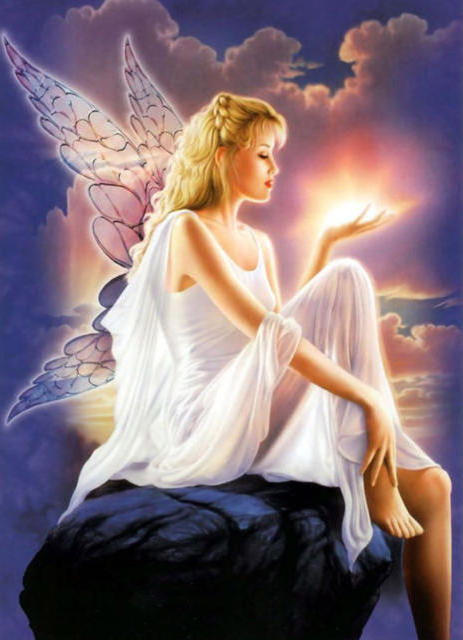 Девушка - ангел, оригинал