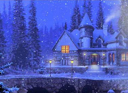 зимний пейзаж 3, оригинал